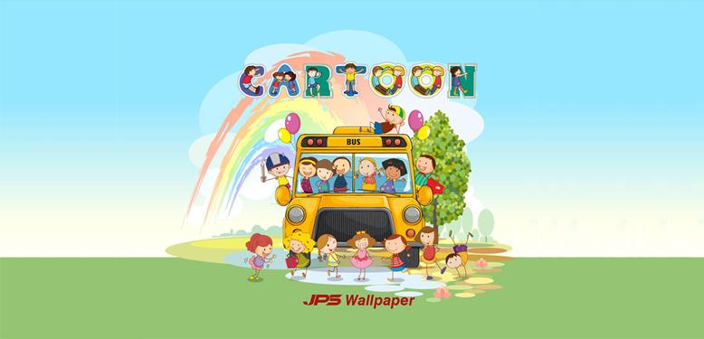 วอลเปเปอร์ติดผนัง เล่ม CARTOON