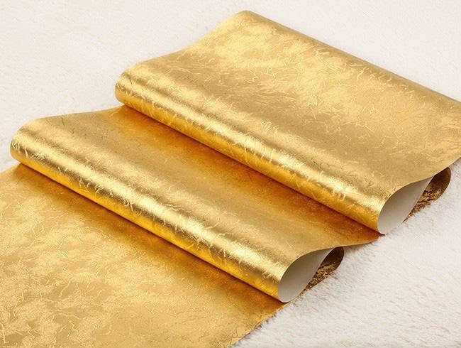 ลายเรียบสีทอง