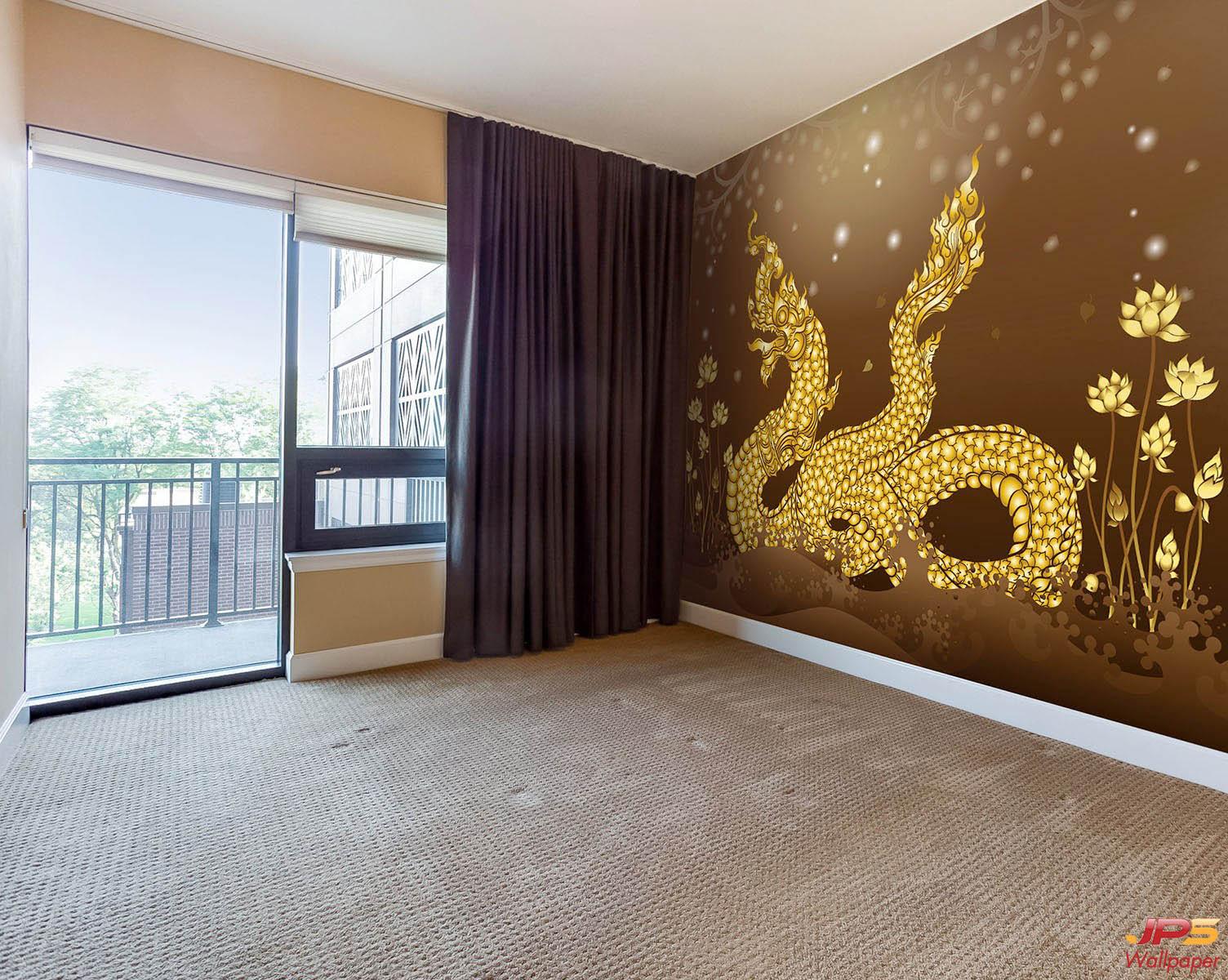 muralbuddhistdragon5