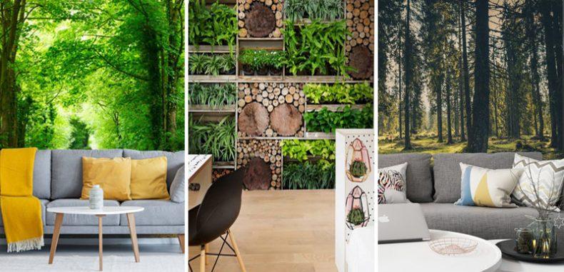 15 แบบห้อง วอลเปเปอร์สั่งพิมพ์สไตล์สวนป่า (Tropical Style)