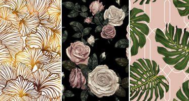วอลเปเปอร์ต่อลาย ภาพวิวธรรมชาติ ภาพวิวดอกไม้ติดผนังสวยๆ