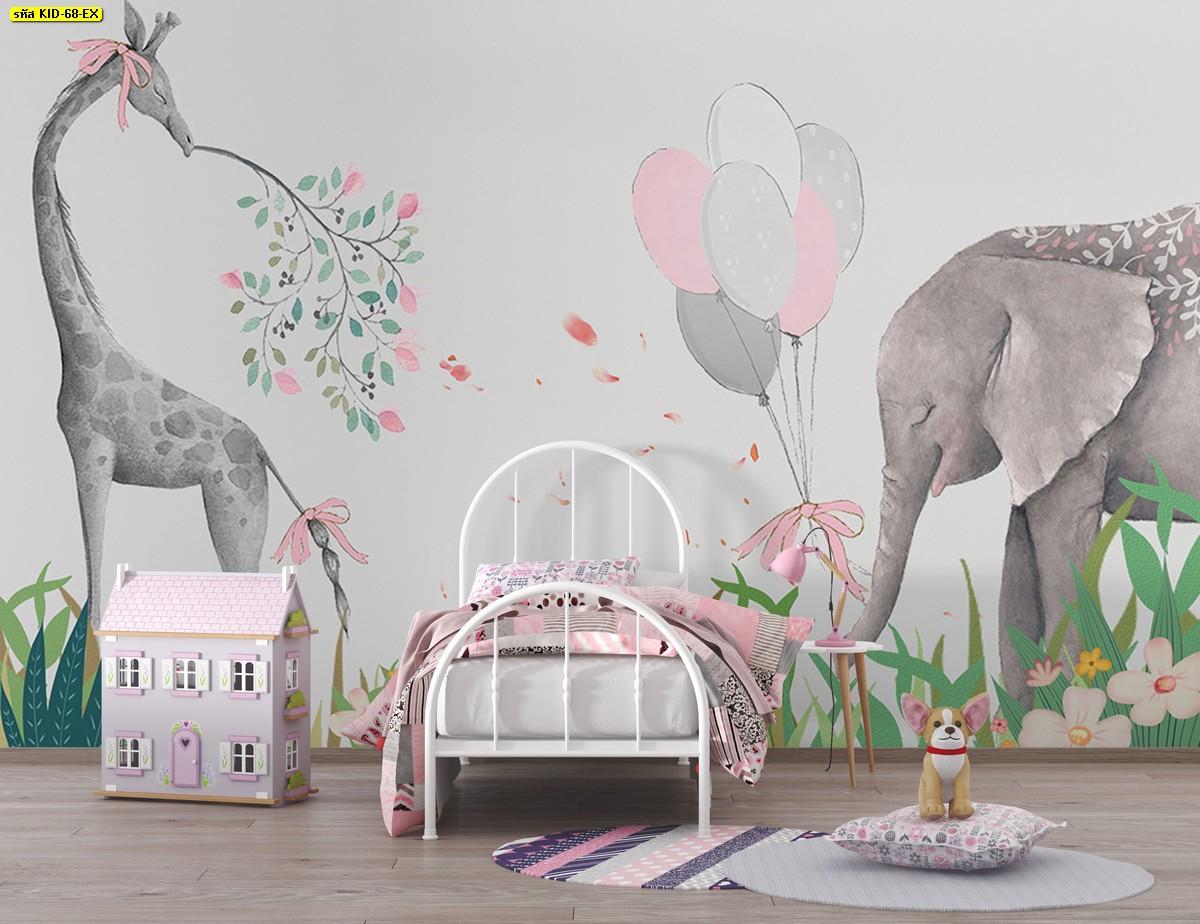 ห้องนอนเด็กผู้หญิงสีชมพู ห้องนอนเด็กหญิงทำได้เอง แต่งห้องนอนเด็ก แต่งห้องสีชมพู