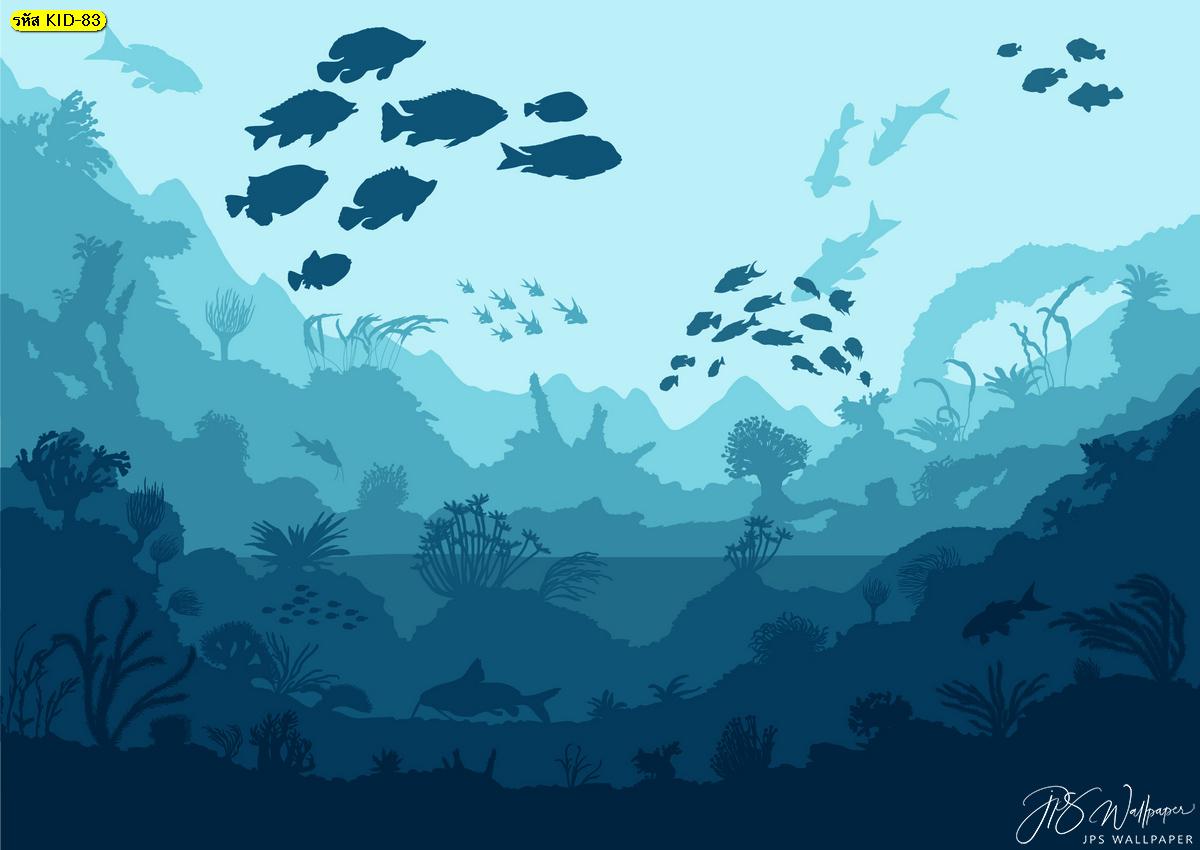 วอลเปเปอร์การ์ตูน โลกใต้ทะเล