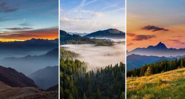 หน้าปกธรรมชาติ ป่าไม้ ภูเขา ชุดที่2