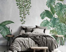 เตียงนอนนุ่มๆ ท่ามกลางบรรยากาศธรรมชาติสบายๆ ไอเดียห้องนอนกลางธรรมชาติ