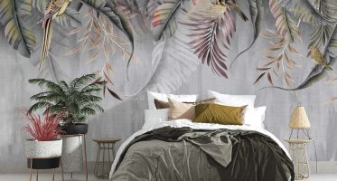 ห้องนอนผนังปูนเปลือยสไตล์ลอฟท์เตียงนอนสีขาว-น้ำตาล ให้ความสวยเท่ดูสุขุม