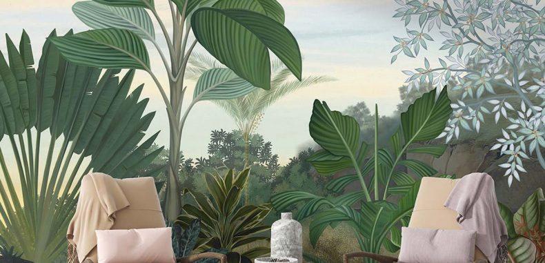 วอลเปเปอร์สวนป่านานาพันธุ์ รหัส PM-110