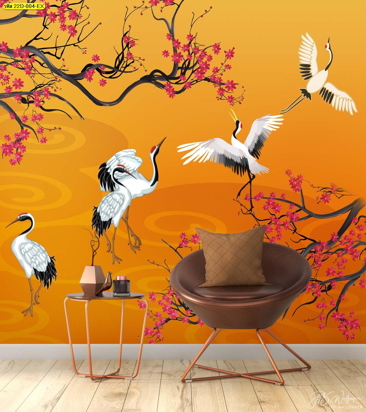 บรรยากาศห้องนั่งเล่นเรียบง่าย ตกแต่งภาพสั่งพิมพ์ติดผนังสวยๆ เสริมฮวงจุ้ย